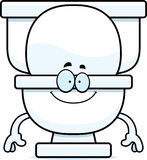 Happy Cartoon Toilet Royalty Free Stock Image
