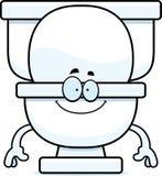 Happy Cartoon Toilet Royalty Free Stock Image