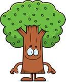 Happy Cartoon Tree Stock Images
