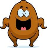 Happy Cartoon Turkey Stock Images