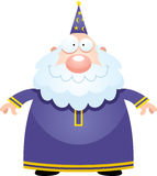Happy Cartoon Wizard Stock Photography