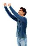 Happy casual man Royalty Free Stock Photography