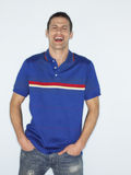 Happy Casual Man With Hands In pockets Stock Photos