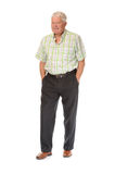 Happy casual mature man Stock Images