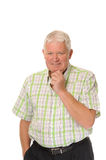 Happy casual mature man Royalty Free Stock Photo