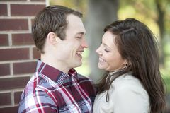 Happy Caucasian Couple Royalty Free Stock Image