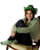Happy Celebrating St. Patrick's Day Stock Image