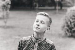 happy chłopiec Zdjęcia Stock