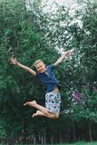 happy chłopiec Obrazy Royalty Free