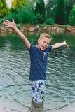 happy chłopiec Obrazy Stock