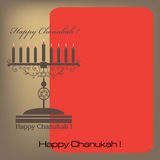 Happy Chanukah Stock Photography