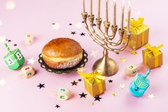 Free Happy Chanukah Background Royalty Free Stock Photography - 165817367