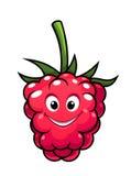 Happy cheeky cartoon raspberry Royalty Free Stock Photos