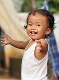 Happy Cheerful Child Stock Photo