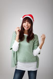 Happy cheerful Christmas girl Royalty Free Stock Photo