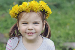 Happy and cheerful girl with a beautiful smile, Stock Photo