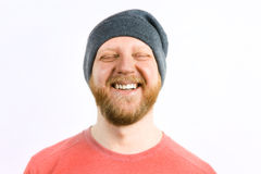 Happy cheerful guy Royalty Free Stock Photography