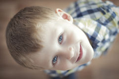 Happy cheerful kid Royalty Free Stock Images