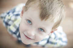 Happy cheerful kid Royalty Free Stock Photography