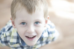 Happy cheerful kid Stock Photography