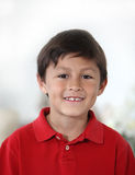 Happy cheerful Latino or Hispanic Boy royalty free stock photos