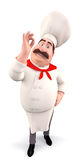 Happy chef Royalty Free Stock Image