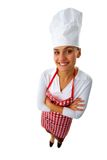 Happy chef Stock Images