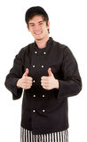Really happy chef Stock Photo
