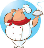 Happy Chef Magnifico! Stock Photography