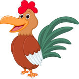 Happy Chicken cartoon Royalty Free Stock Photo