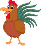 Happy chicken cartoon Royalty Free Stock Image