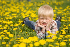 The happy child Royalty Free Stock Photos