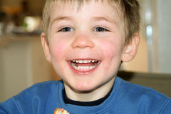 Happy Child. An image of a smiling boy Royalty Free Stock Image