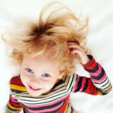Happy child. Royalty Free Stock Photos