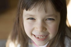 Happy child. Happy girl royalty free stock photography