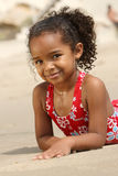 Happy Child on a Beach Royalty Free Stock Photos