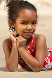 Happy Child on a Beach Royalty Free Stock Image