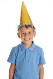 Happy child in the cap Stock Photo
