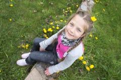 Happy child girl Stock Photography