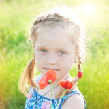 Happy Child Girl Stock Images
