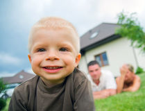 Happy child, happy life Stock Photo