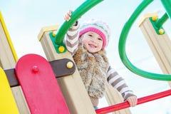 Happy child having fun Stock Photo