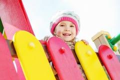 Happy child having fun Royalty Free Stock Photo