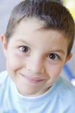 Happy child headshoot Stock Images