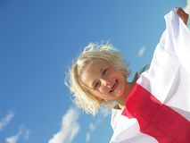 Happy Child on Holiday Stock Photos