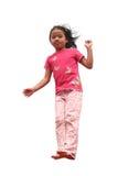 Happy child jump Stock Photography