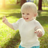 Happy Child outdoor Royalty Free Stock Image
