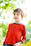 Happy child outdoors Royalty Free Stock Photos