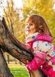 Happy child playing Stock Image