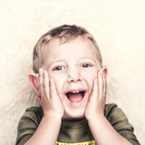 Happy child portrait Stock Photo
